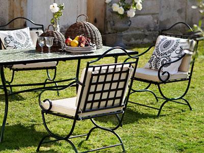 Три лучших варианта садовой мебели