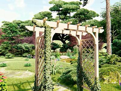 Садовые перголы и арки: какие функции они могут выполнять