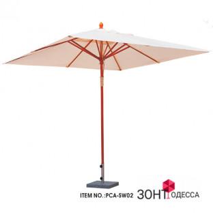 Деревянный зонт МИЛАН, 3х3