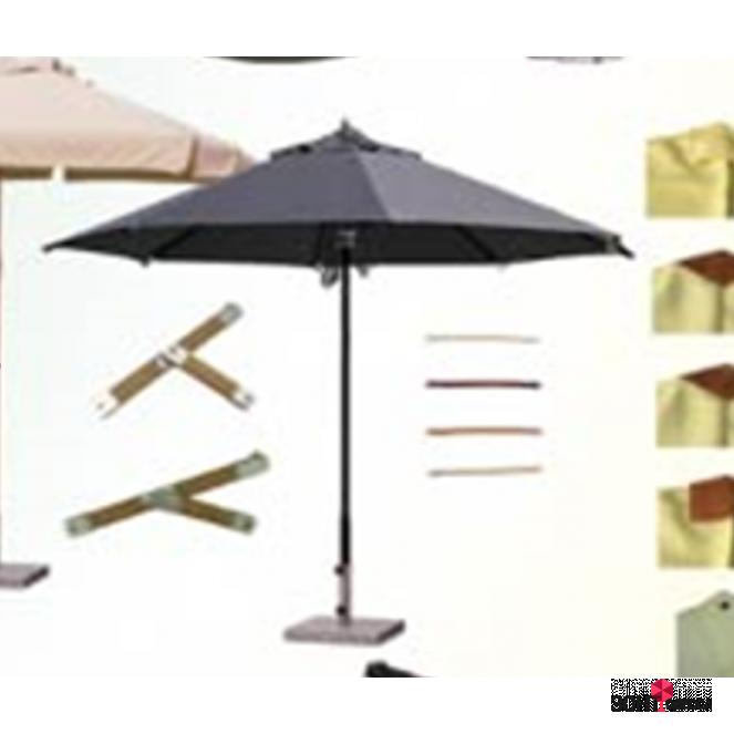 Зонт алюминиевый круглый